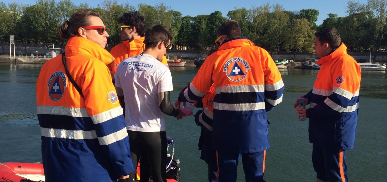 La Color RUN avec une équipe nautique