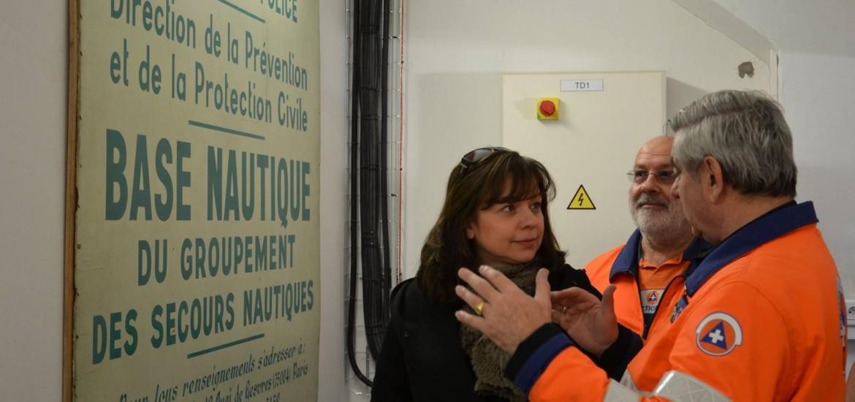 Visite de Madame le Maire du 12eme
