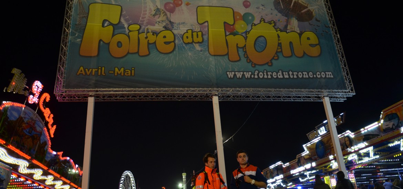 La Foire du Trône avec les secouristes de la Protection Civile de Paris 12