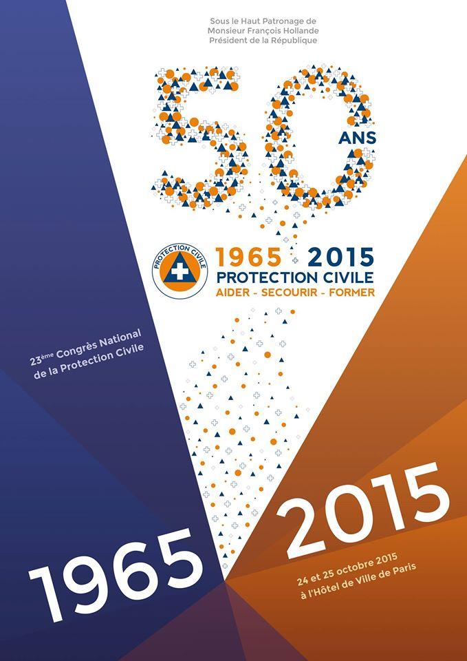 Congrès Protection civile de Paris- 50 ans-2015
