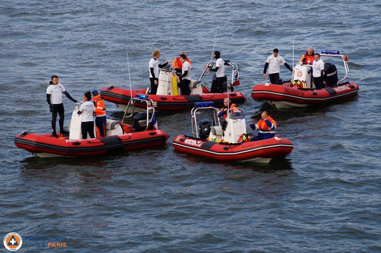 Equipe nautique-BNSSA- Protection civile de Paris 12